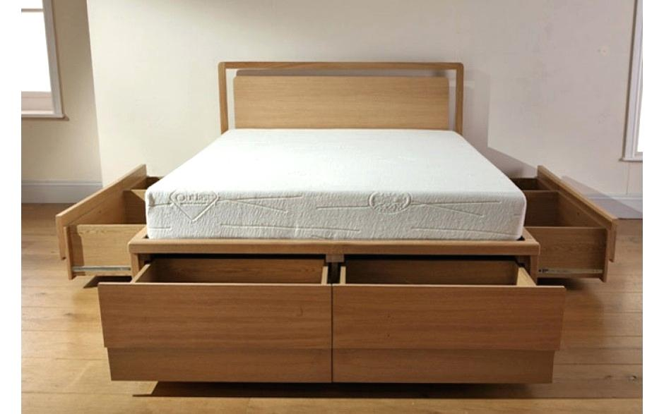 queen storage bed open wooden beds with drawers uk .