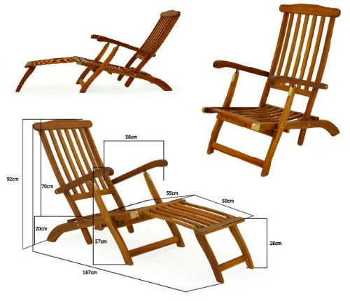 Image result for antique wooden folding deck chair with foot rest Deck  Chairs, Foot Rest
