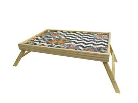 MDF Design Wooden Folding Tea Table