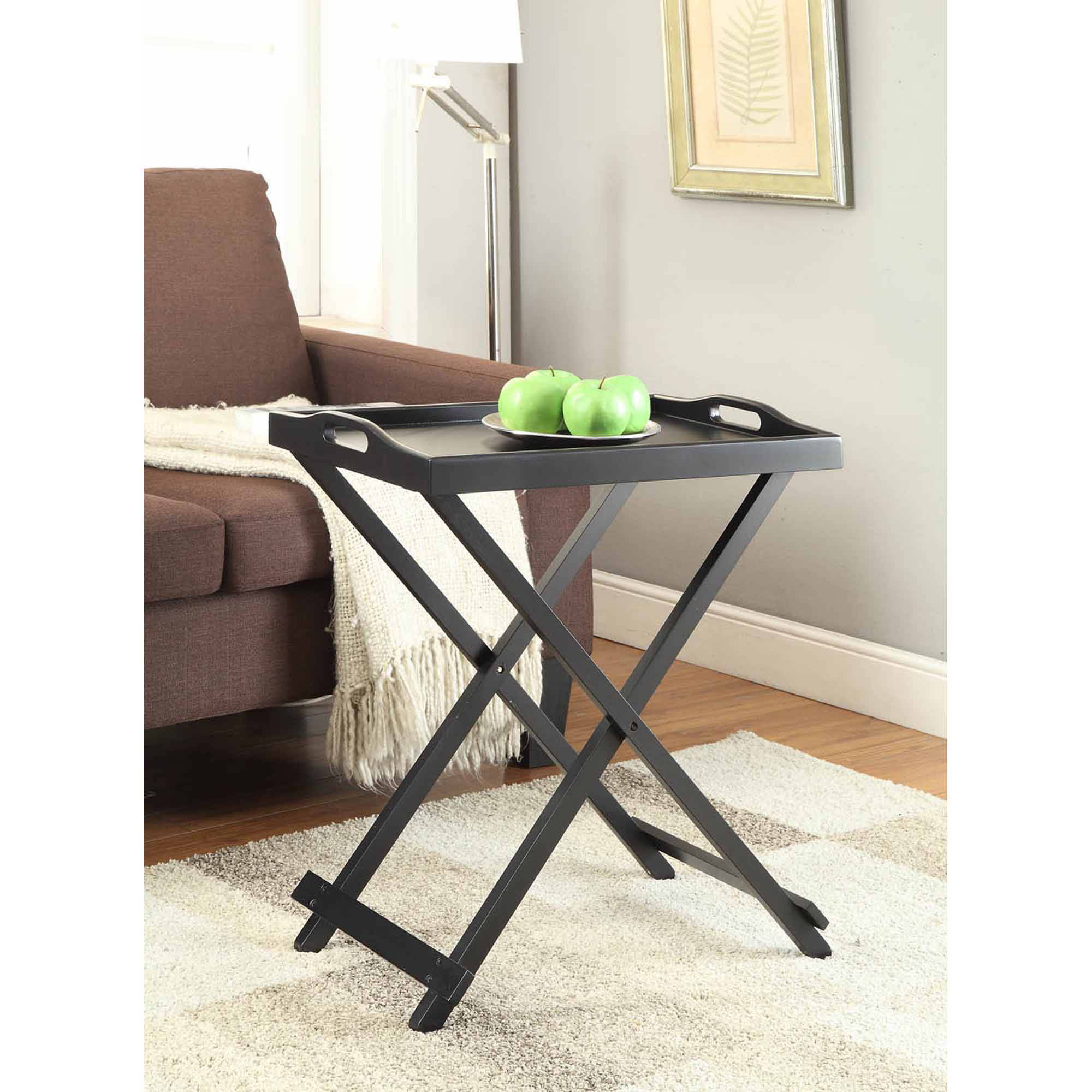 Convenience Concepts Designs2Go Folding Tray Table, Multiple Colors -  Traveller Location