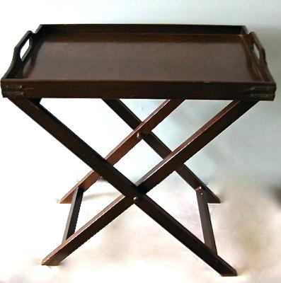 wooden folding tray table amazing folding butlers tray table mahogany  serving tray table wood folding bed