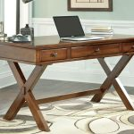 Spruce up your workspace with an wooden   home office desk