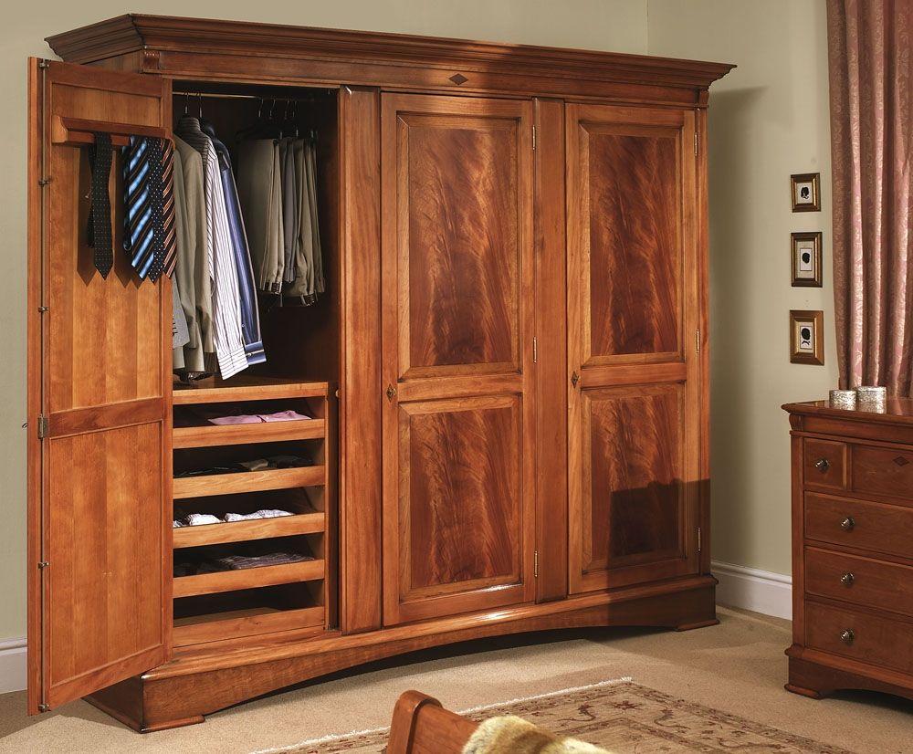 How To Make Hang Wardrobe Of Wood Portable Closet Http solid wood closet  drawers