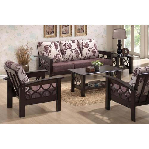 Designer Wooden Sofa Set at Rs 18000 /set | Asaf Village | Hyderabad