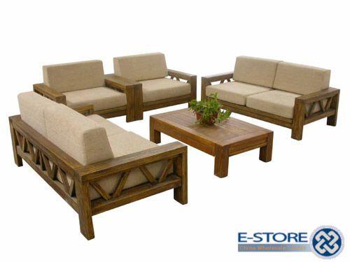 Wooden Sofa Set Designs u2026 | Design in 2019 | Sofa, Furniture, Wooden