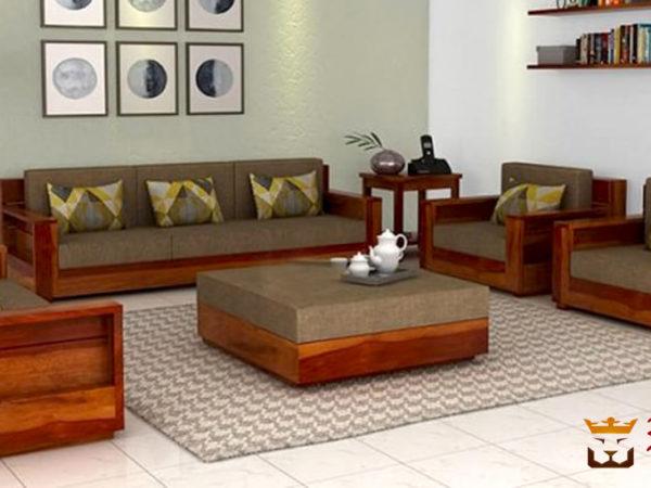 Wooden sofa I Wooden Office Sofa Set I Modern Designer Sofa Set I