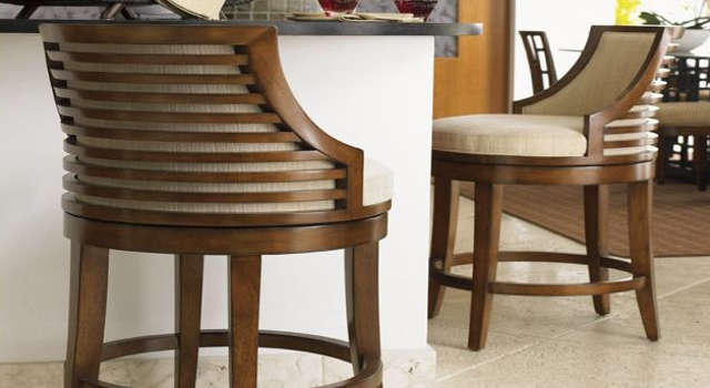 Innovative Wooden Bar Stools With Backs And Arms Swivel Bar Stools