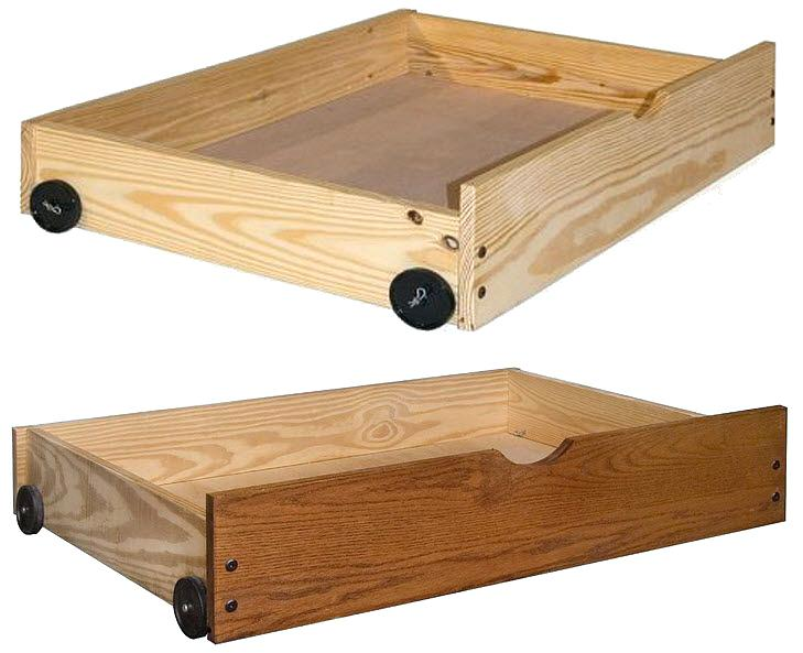 Under Bed Storage Drawers On Wheels As Well Wooden u2013 VinnyMo