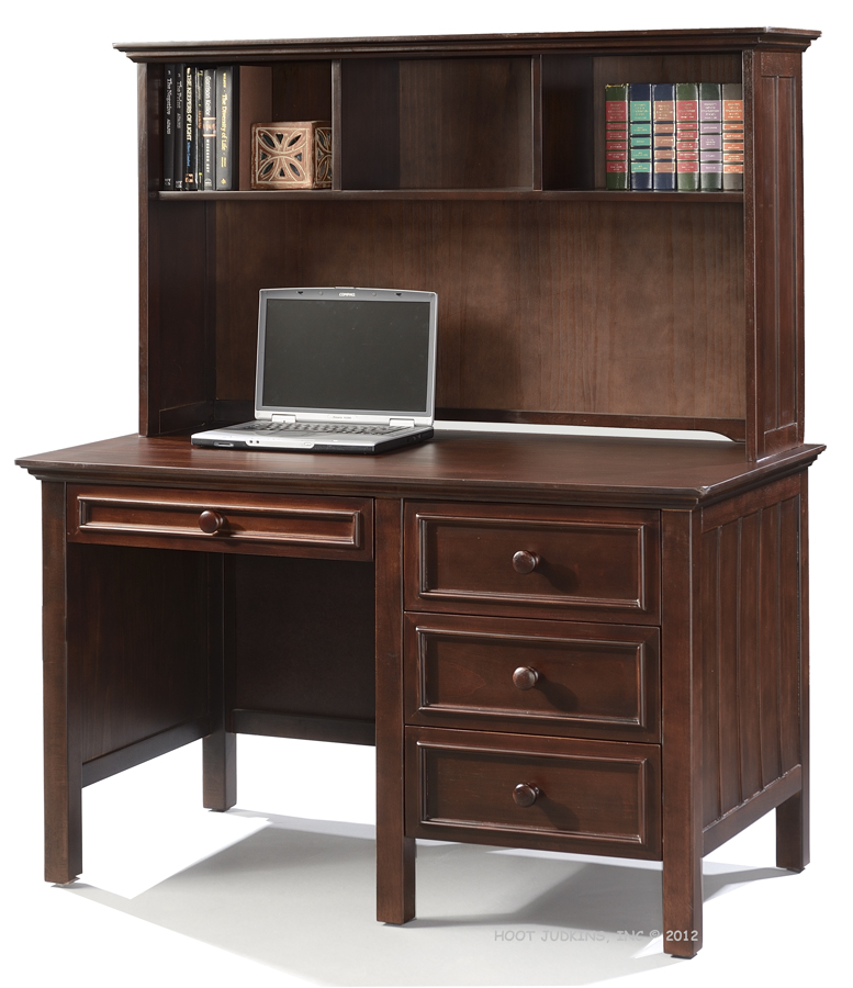 Sherwood Student Desk & Hutch Set - Choose Color