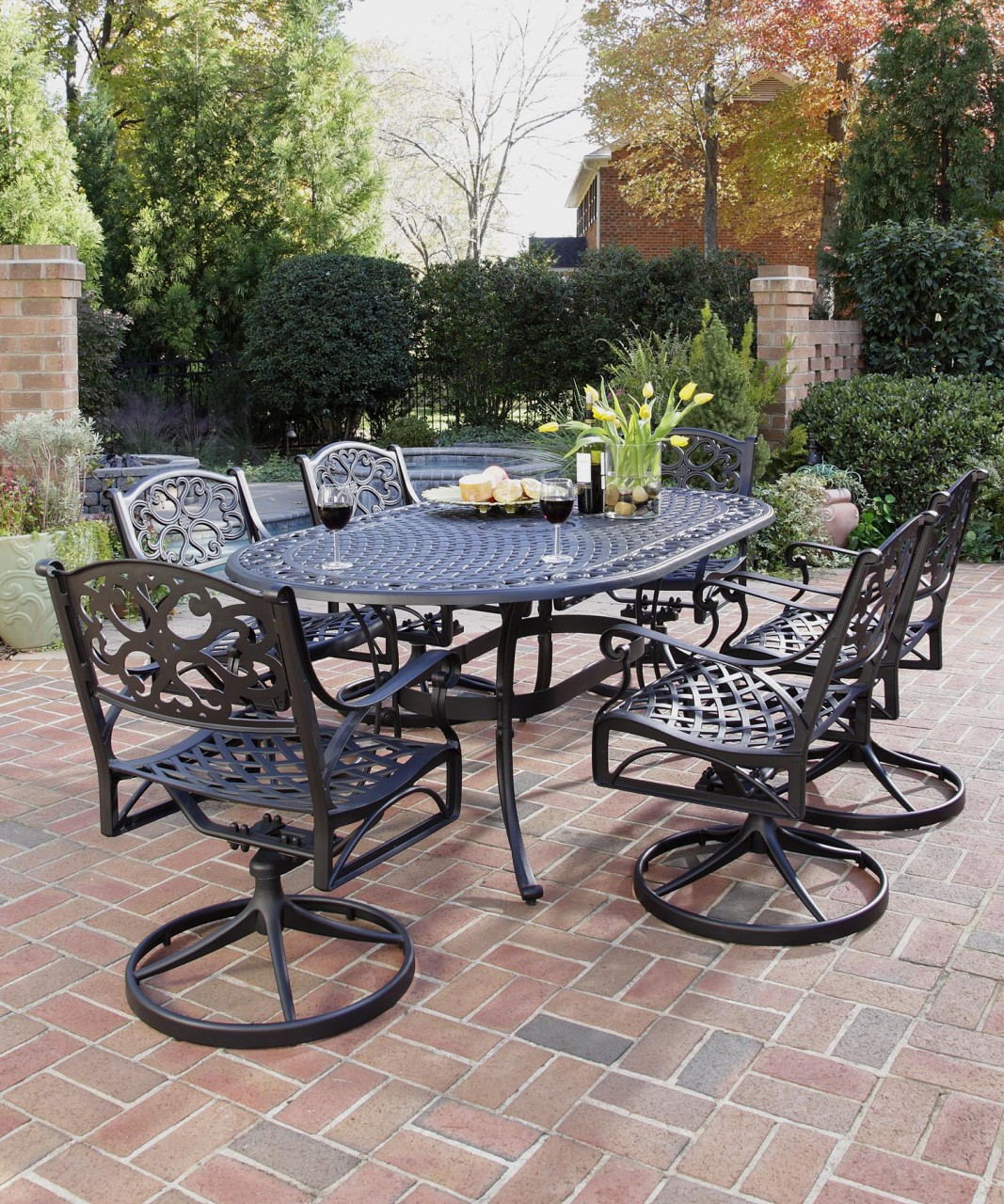 Nice Wrought Iron Patio Furniture Sets