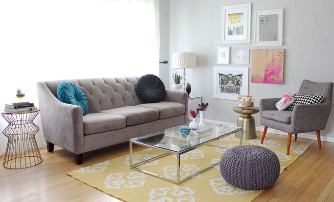 Yellow Rug For Living Room - Rugs Ideas