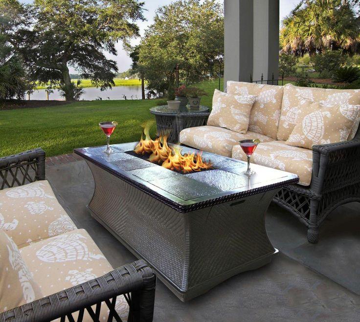 Amazing 17 best ideas about Diy Propane Fire Pit on Pinterest | Propane fire propane patio fireplace