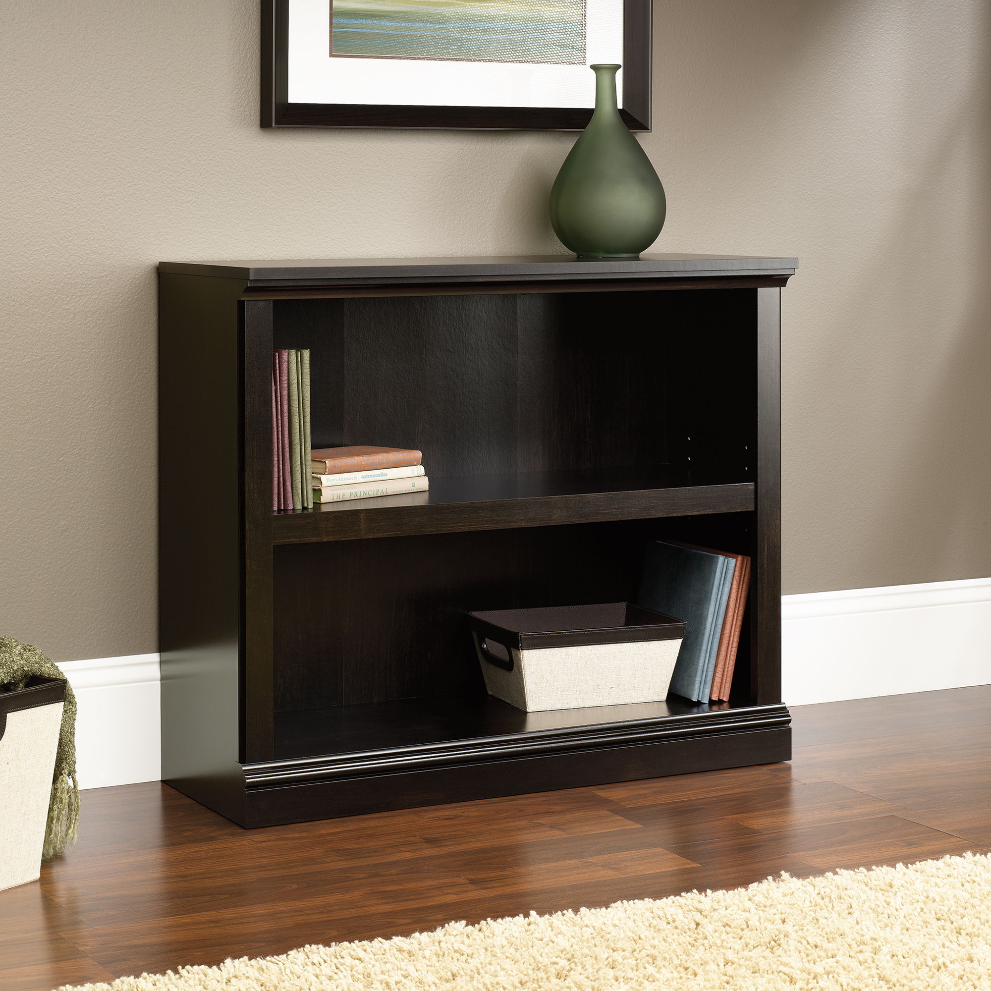 Amazing 2-Shelf Bookcase ... sauder 2 shelf bookcase