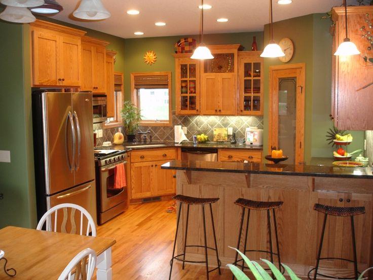 Amazing 25+ best ideas about Kitchen Walls on Pinterest | Kitchen colors, Paneling paint color ideas for kitchen walls