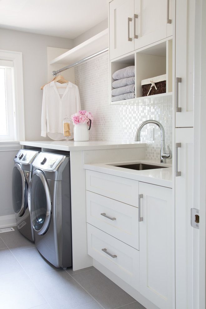 Amazing 25+ best ideas about Laundry Room Cabinets on Pinterest | Laundry room, white cabinets for laundry room