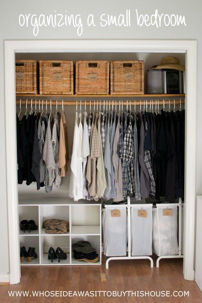 Amazing 25+ best ideas about Small Closet Organization on Pinterest | Small closet small closet solutions
