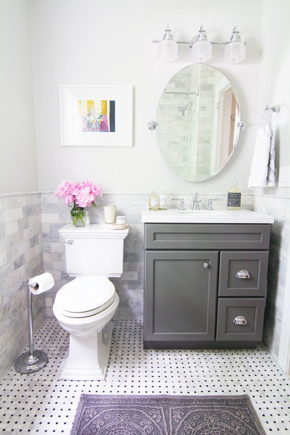 Amazing 30 of The Best Small and Functional Bathroom Design Ideas small bathroom decor ideas