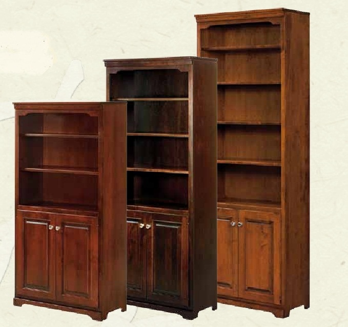 Amazing 84 solid wood bookcases with doors