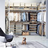 Amazing Birch u0026 White elfa décor Walk-In Closet walk in closet systems