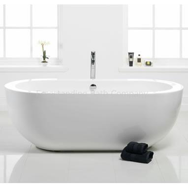 Amazing Bloomsbury Small Contemporary Freestanding Bath - 1690mm small freestanding baths