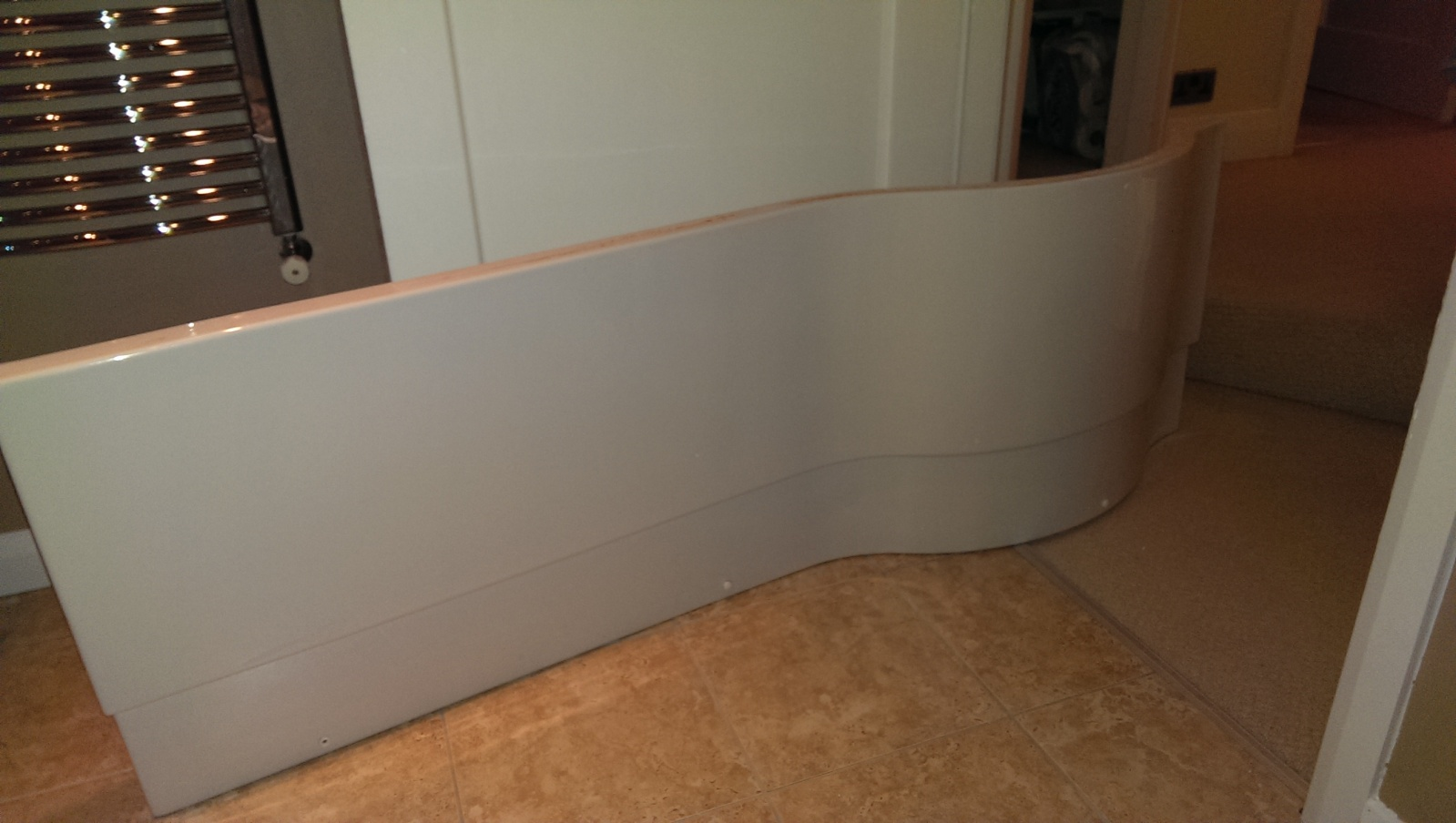 Amazing Can anyone help? p shaped bath panel