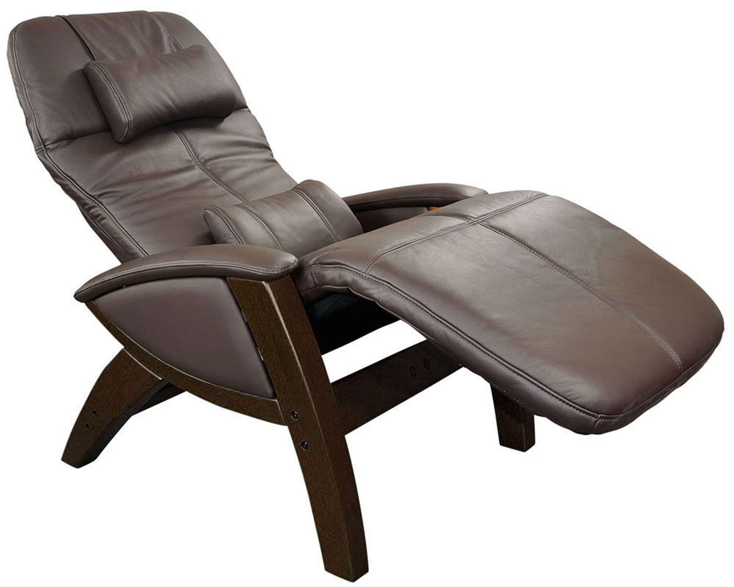 Amazing Chocolate Leather Svago SV400 Lusso Chair Zero Gravity Recliner zero gravity recliner