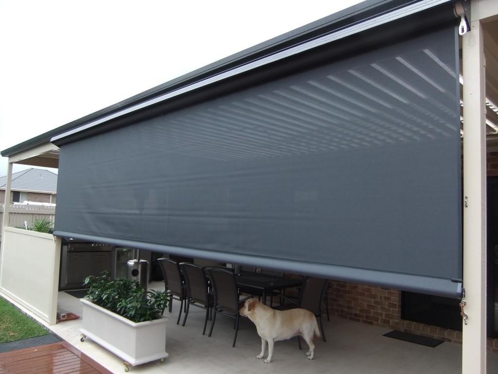 Amazing Choosing Outdoor Blinds u2026 outdoor patio blinds