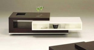 Amazing Coffee and Cream Modern Center Table living room center table