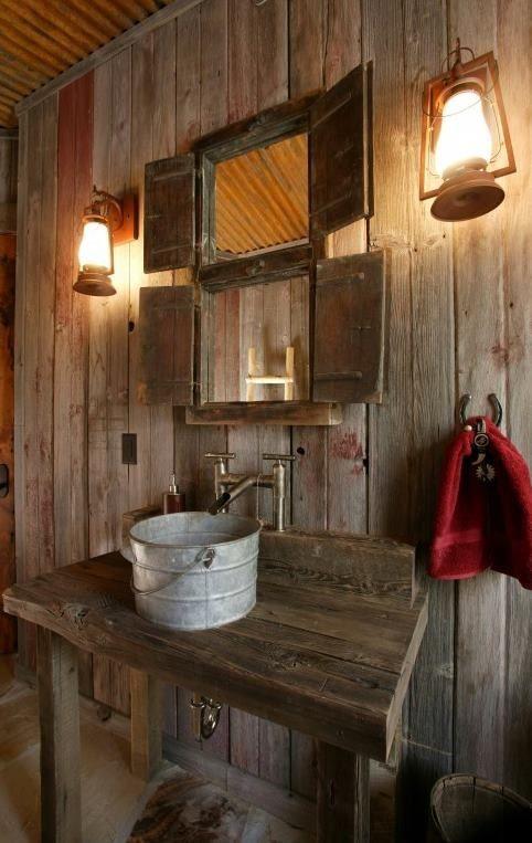 Amazing Cool Rustic Bathroom Designs rustic bathroom decor ideas