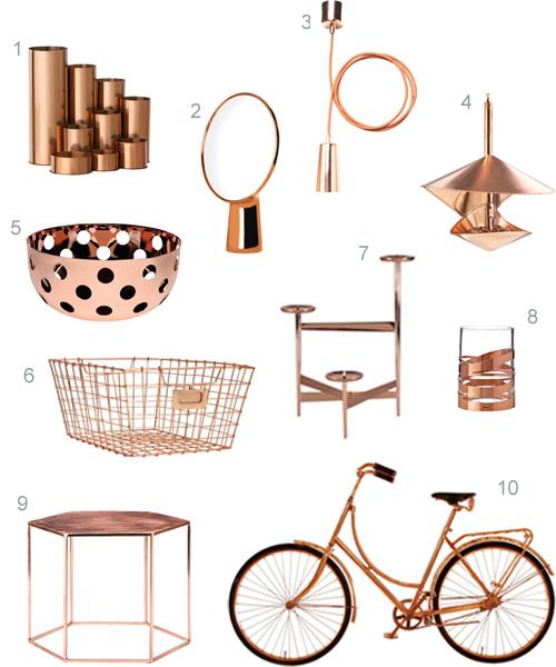 Amazing copper-home-accessories copper decorative accessories