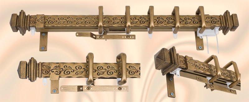 Amazing Decorative Drapery Hardware,Custom Curtain Rods,Drapery Finials: Orion  Presents New SleekFascia Traversing Rods!! custom drapery rods