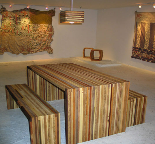 Amazing Design recycled wood furniture