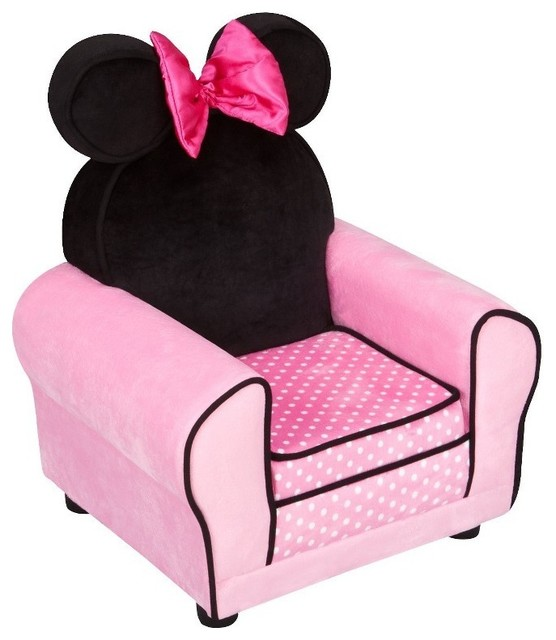 Amazing Disney Minnie Mouse Upholstered Sofa Chair modern-kids-beds kids sofa chair