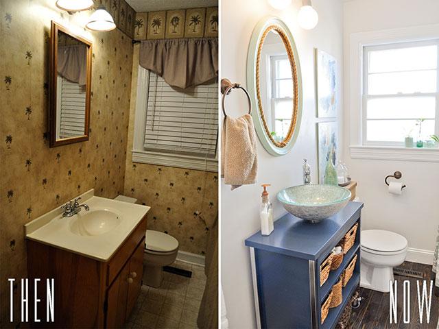 Amazing DIY Budget Bathroom Renovation Reveal diy bathroom renovation