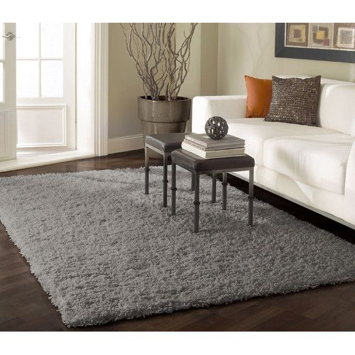 Amazing Found it at Wayfair - Shag Gray Area Rug plush area rugs for living room