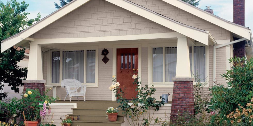 Amazing Hints of blue might just be the new  best exterior paint colors