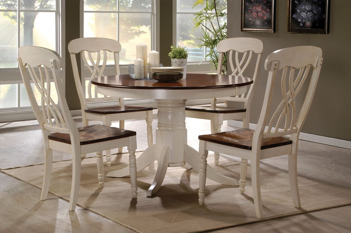 Amazing Image 1 round kitchen table sets for 4