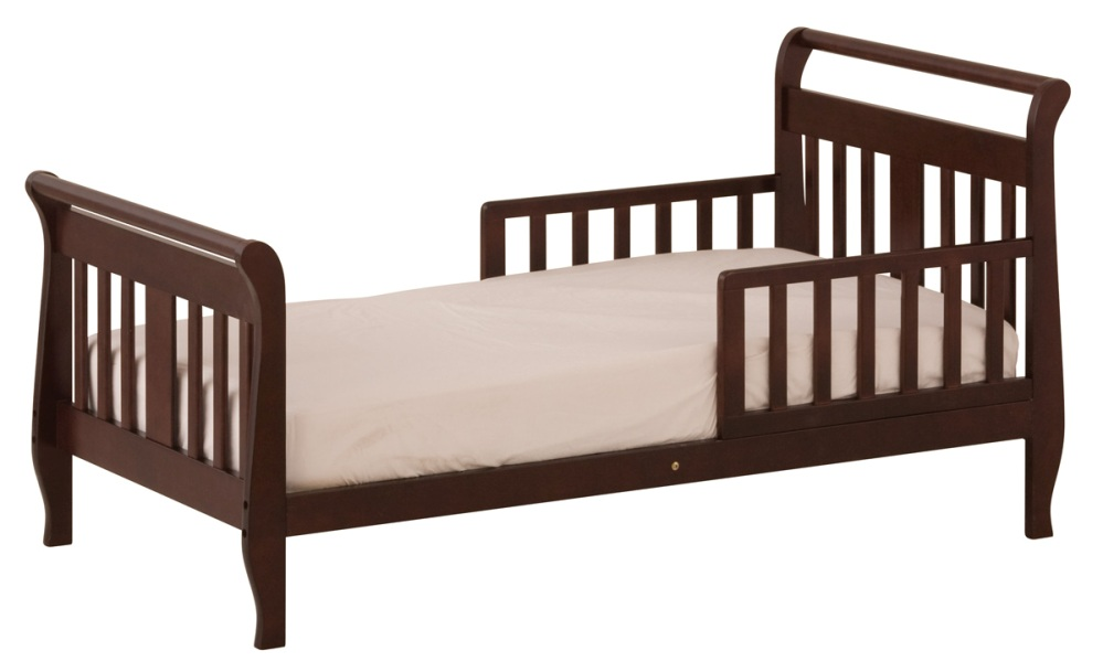 Amazing Image of: Toddler bed wooden wooden toddler bed