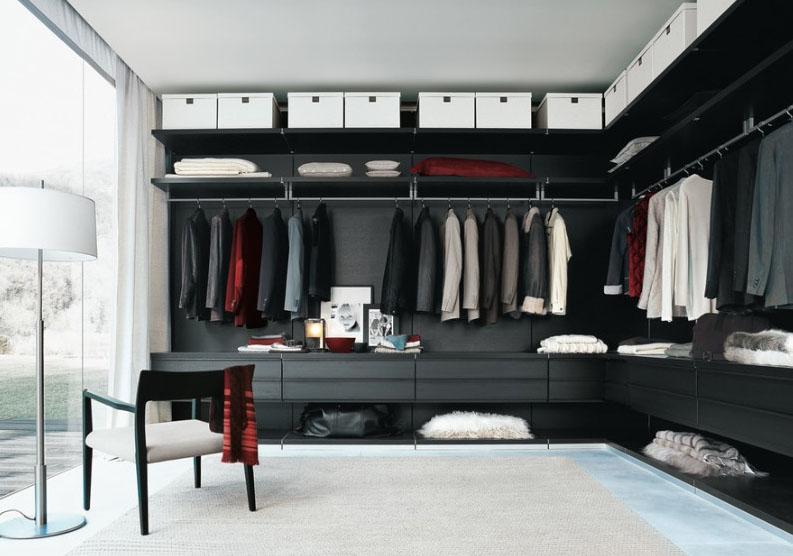 Amazing Impressive Yet Elegant Walk-In Closet Ideas - Freshome.com walk in closet design