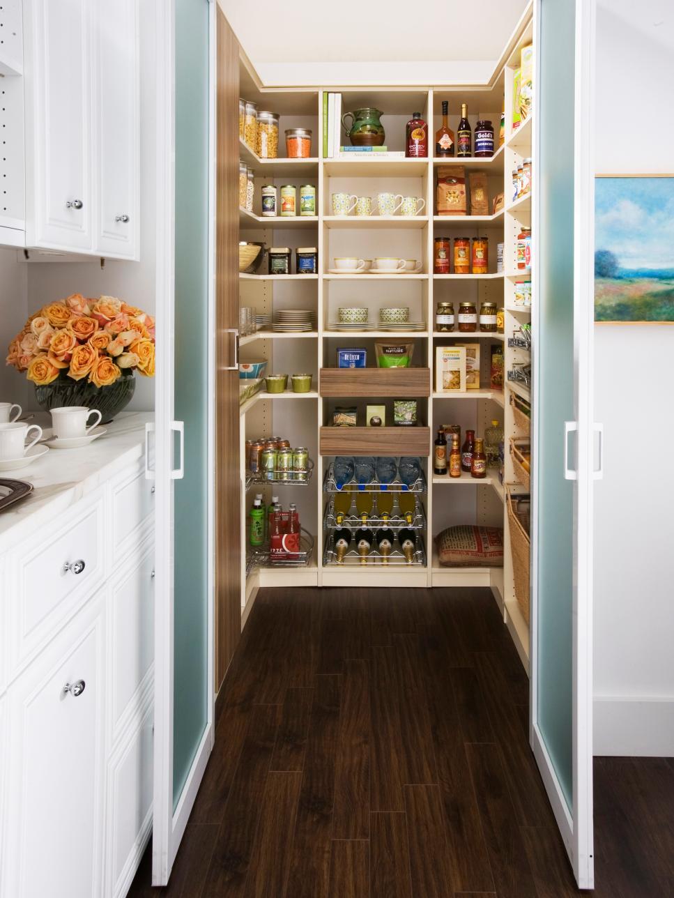 Amazing Kitchen Storage Ideas | HGTV kitchen cabinet shelving ideas