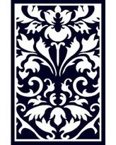 Amazing Linon Capri Black/ White Area Rug (4u00273 x 7u00273) black and white area rugs