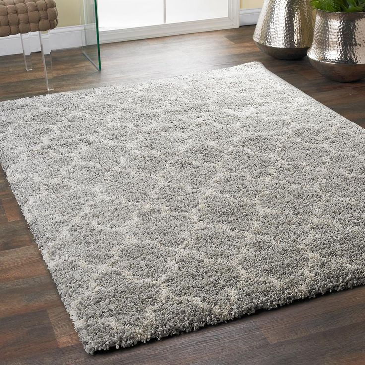 Amazing Lofty Trellis Plush Area Rug plush area rugs
