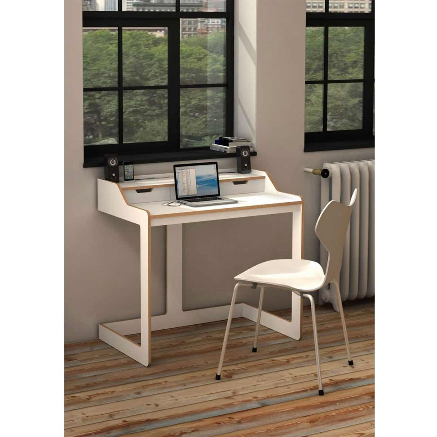 Amazing Modern Desks for Small Places: Small Desk modern desks for small spaces
