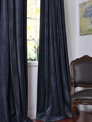 Amazing moroccan blue velvet drapes blue velvet curtains