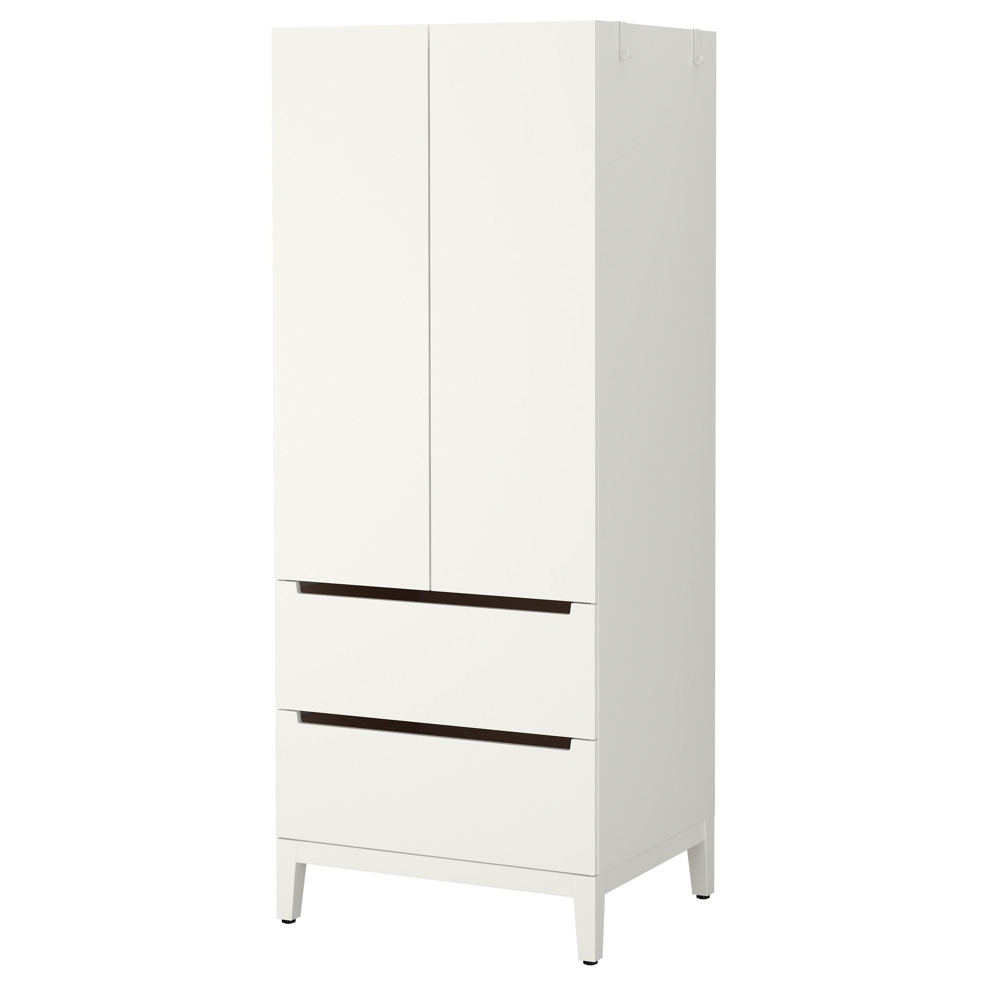 Amazing NORDLI Wardrobe - IKEA white wardrobe with drawers