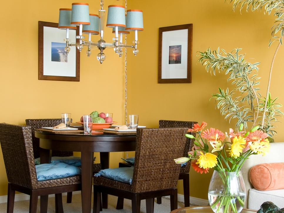 Amazing Our Fave Colorful Dining Rooms | HGTV colors for dining room walls