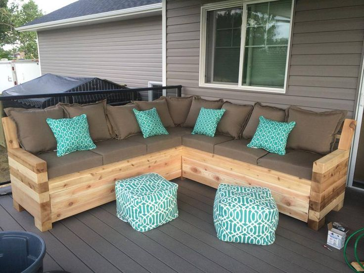 Amazing Outdoor Sectional outdoor deck furniture