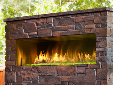 Amazing Palazzo Gas Fireplace gas outdoor fireplace