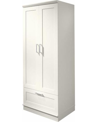 Amazing SAUDER Armoires Home Visions Laminate Wardrobe/Storage Cabinet with Drawer  in Soft wardrobe storage cabinet