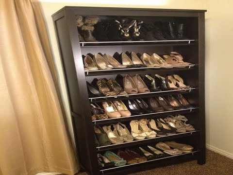 Amazing Shoe Shelves - Shoe Shelves For Closets Wood wooden shoe racks for closets